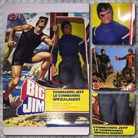 MIB VTG 70s Mattel Big Jim Commando Jeff Wolf Pack Commander Leader Figure Doll