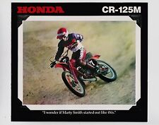 1978 HONDA CR125M NEW Original SALES BROCHURE Vintage Motocross Motorcycle