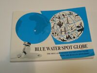 Blue Water Spot Globe 2000 instruction booklet Scanglobe FREE SHIPPING