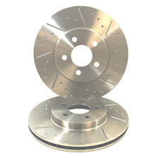Dimpled And Grooved BRAKE DISCS REAR FORD ESCORT RS COSWORTH 4WD 4x4