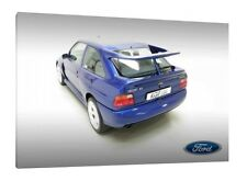 Ford Escort RS Cosworth - 30x20 Inch Canvas Art Work Framed Picture Print