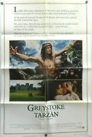 Greystoke The Legend of Tarzan 1983 Original Movie Poster Christopher Lambert
