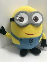 """Despicable Me 2 Minion Dave Large Stuffed Plush Yellow Doll 15"""" Tall"""