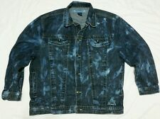 Avirex Denim Jean Jacket Coat Men's Size 2X XXL Denim Systems