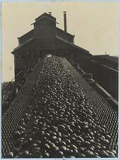 Industrie 7 Photos André Vigneau (attribué à) Vintage argentique c 1935