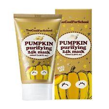 too cool for school Gold Pumpkin Purifying 24K Peel Off Mask 100ml/3.38 fl.oz.