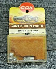 Vintage Cox Pinion Gear 12 Tooth Cat. No. 4022  1/24th Scale Mint in Package