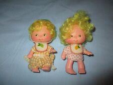 Vintage 1983 Strawberry Shortcake Lem n Ada Dolls International Friends Lot