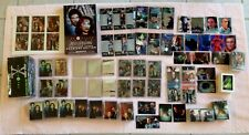 X-FILES LARGE COLLECTORS SET TRADING CARDS TOPPS INTREPID FOILS PROMOS HOLOGRAMS