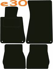 Bmw e30 Left Hand Drive 3 Series DELUXE QUALITY Tailored mats 1984 1985 1986 198