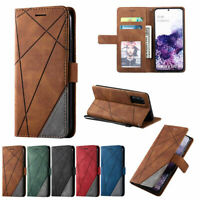 For Samsung Galaxy S21 Ultra S20 FE 5G Phone Leather Flip Card Wallet Case Cover