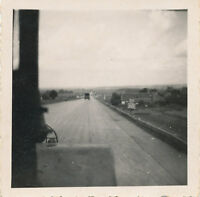 WWII 1945 Brunswick Germany GI's Photo #3 on the Autobahn super Highway