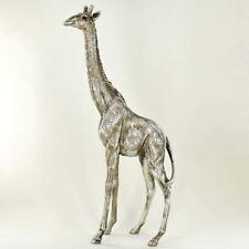More details for giraffe antique silver sculpture beautiful home decor ornament statue figurine