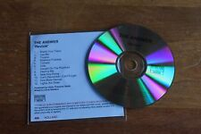 The Answer / Europe promoCD / Revival  2011 - Spinefarm Records – 500