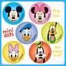 Mickey Mouse Stickers - 48 Dots - 8 Sheets - Birthday Party Reward Charts Loot
