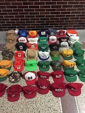 Vintage Lot CASE INTERNATIONAL HARVESTER HAT CAP Golden Harvest Snapback Deere