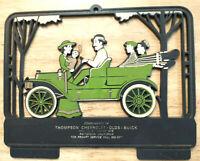 Vintage Old Car Model 12 Maytag Auto Dealer Advertising Plastic Calendar Frame