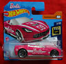 Barbie - '14 Corvette Stingray - 2014 - Hot Wheels Screen Time Card