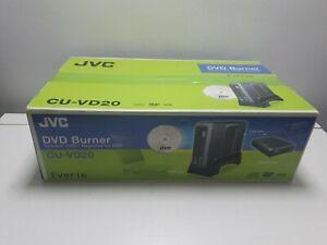 JVC DVD Brenner Model cu-vd20 Filmer Share Station Direct DVD Brenner