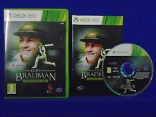 xbox 360 DON BRADMAN Cricket 14 The Legend Continues 2014 PAL UK REGION FREE
