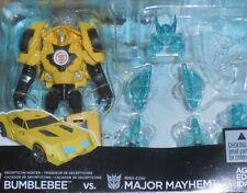 Transformers Robots In Disguise BUMBLEBEE vs MAYHEM Battle Pack Legends 2015 Rid