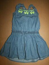 NWT Gymboree Butterfly Fields size 6 Blue Chambray Butterfly Dress