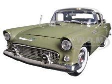 1956 FORD THUNDERBIRD GREEN 1:18 DIECAST MODEL CAR BY MOTORMAX  73176