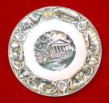 "Souvenir Plate, Va State Capitol + Va landmarks, , 7"", A Capsco Product, '50's"