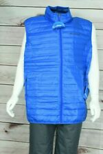 Columbia Men's Flash Forward Down Blue Vest US Size 2X