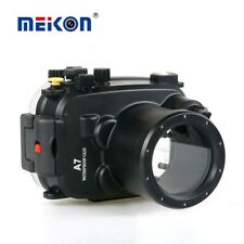 Meikon 40m/130ft Underwater Camera Housing Case for Sony A7 A7R  A7S  28-70mm