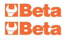 Outils Beta Autocollant Socket Racing Decal Racing Motorsport Bike sponsor WRC moto