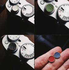 Genuine Leather Soft Shutter Release button for Leica Fujifilm 5 colors