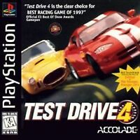 Test Drive 4 (Sony PlayStation 1, 1997) EXCELLENT CONDITION COMPLETE        288
