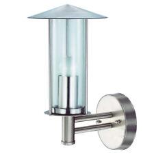 Grafner Außen Edelstahl Wandlampe Glas Aussenlampe Hoflampe Wandleuchte LED