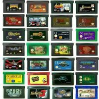 Grand Theft Auto Advance Castlevania... GBA Games Boy Advance Cartridge Cards US