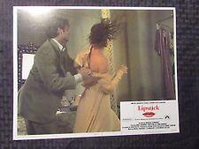 "1976 LIPSTICK 14x11"" Lobby Card #7 FN+ Margaux Hemingway, Chris Sarandon"