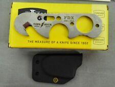 BUCK KNIFE 0695SSGTP 695SSGTP 695 TOPS FDX SEATBELT CUTTER NEW USA MADE !!!!