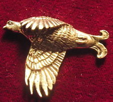 Quality Pewter Scottish Blackcock Grouse  Pin Brooch