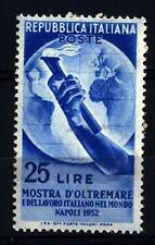ITALIA REP. - 1952 - Mostra d'Oltremare e del Lavoro italiano