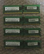 4 x IBM 73P2870 Micron MT18HTF12872Y-40EB3 1GB DDR2 Memory Module