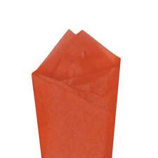 "24 Sheets 20"" x30"" Sandstone (Orange) Quality Premium Grade Color Tissue Paper"