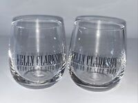 Kelly Clarkson Meaning Of Life Tour WINE Glasses NICE