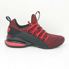Puma Boys Axelion Nm Jr 192728-02 Red Running Shoes Lace Up Mid Top Size 6C