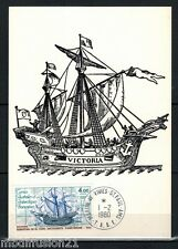 1980 - FDC CP.TAAF - CARAVELLE - LE VICTORIA - NAVIRE - TIMBRE Yt.85