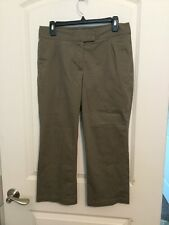 "Nike Fit Dry Golf Capri Pants Size 8 Brown Color 24"" Inseam"