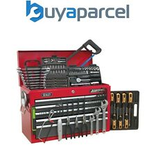 Sealey 9 Drawer Topchest Tool Chest with 205 Piece Tool Set AP22509BBCOMB