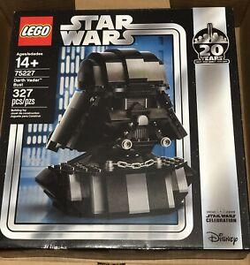 LEGO Star Wars 75227 Darth Vader Bust Celebration Chicago Exclusive New Sealed