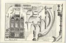 1873 Design For A Book Case, Satchell Edwards Architects
