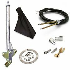 11 Trans Mnt E-Brake HandleBlack Boot, Blk Ring, Cable Kit, Ford Clevis truck