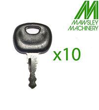 14603 KEY X 10 MANITOU, AUSA, JCB